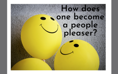 How does one become a people pleaser?