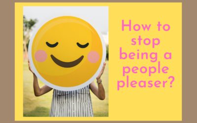 How to stop being a people pleaser?