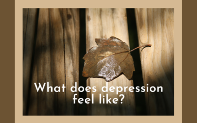 What does depression feel like?