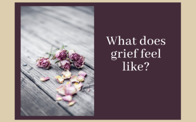 What does grief feel like?