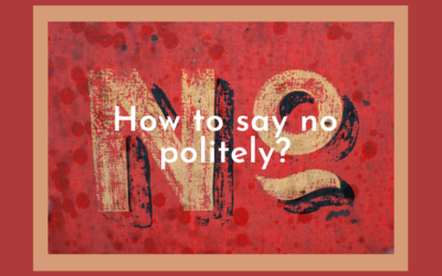 How to say no politely?