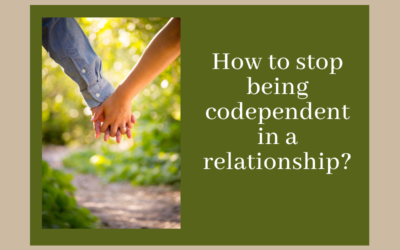 How to stop being codependent in a relationship?